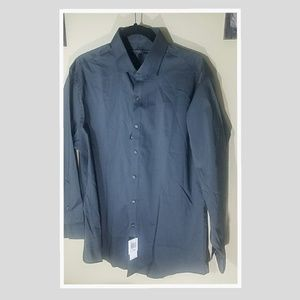 NWT...GEOFFREY BEENE FITTED..16.5 32/33